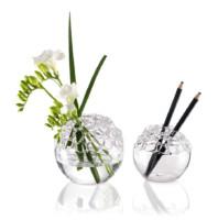parisevetro - vaso centrotavola vetro soffiato borosilicato fatto a mano